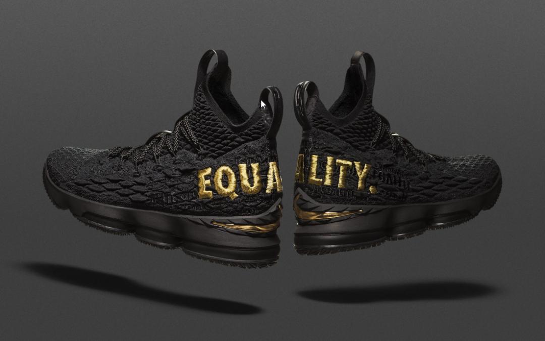 Nike Giving Away 400 LeBron James 'Equality' Sneakers to  Raise Awareness
