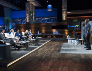 For Times You Can't Hit The Shower: Former NFL Players Pitch 'ShowerPill' on 'Shark Tank'