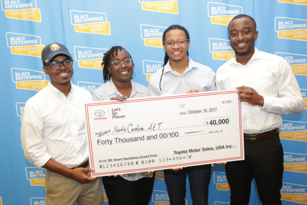 BE Smart Hackathon Fast-Tracks HBCU Students to Success