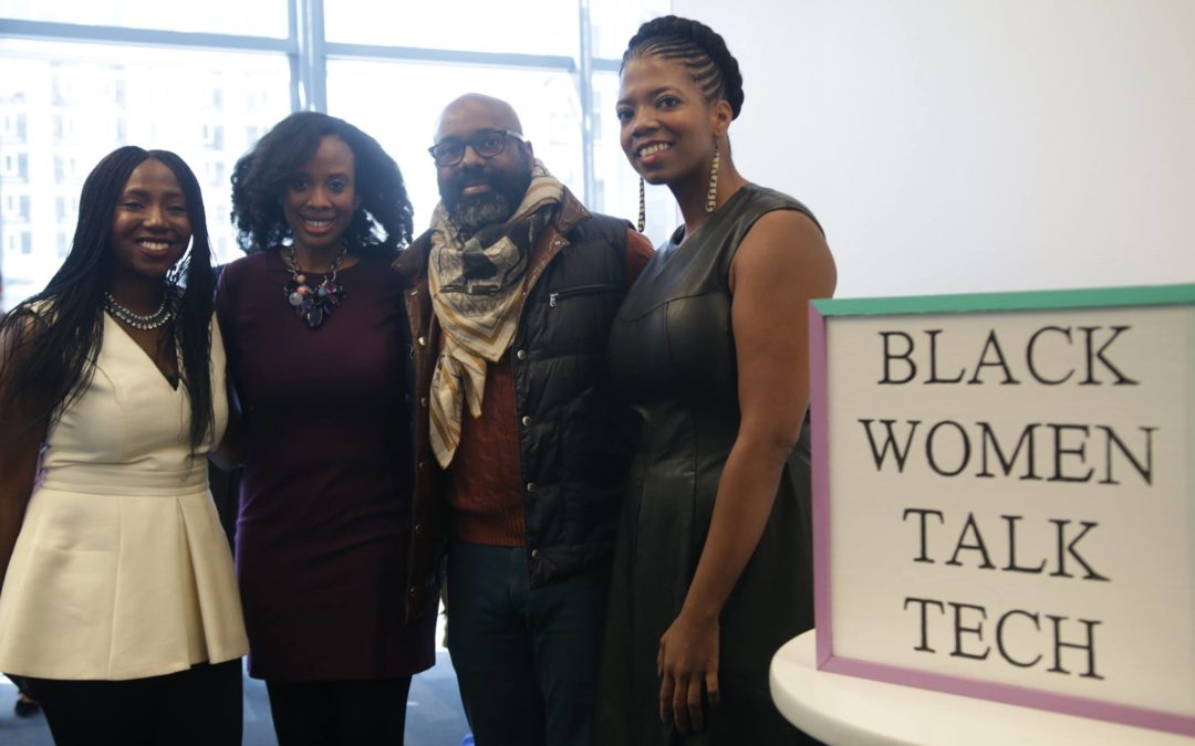 Black Women Talk Tech at a Conference for Us by Us