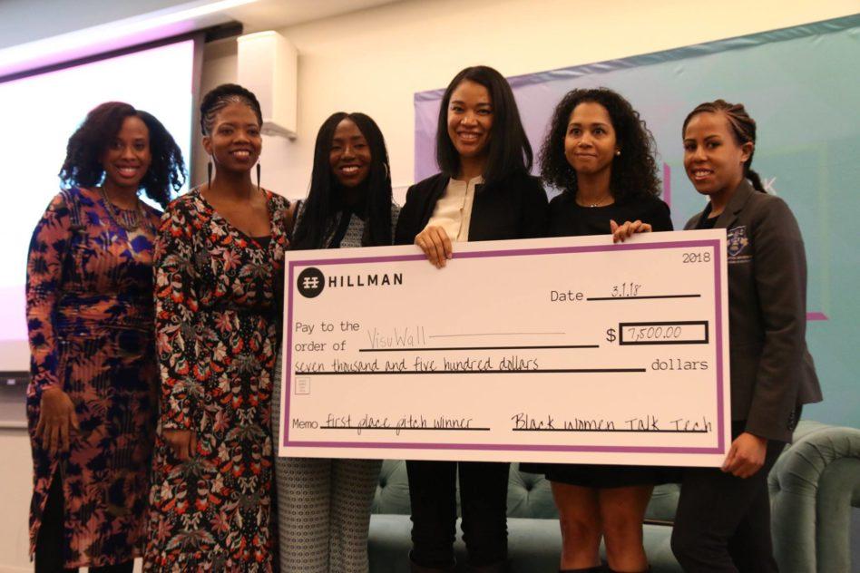 L to R: LaurenWashington, ReginaGwynn, EsosaIghodaro, Kobi Wu, Candice Matthews,and Angel Rich (Image: Black Women Talk Tech Conference)