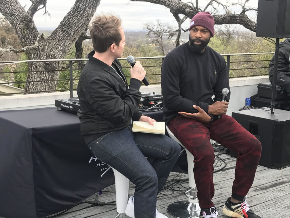 Baron Davis Fireside Chat at Culture House (Image: Cross Culture Ventures)