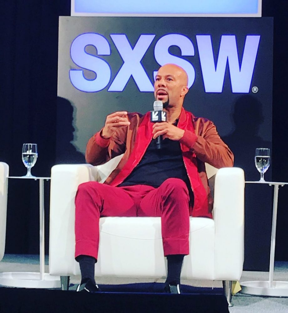 Common, Executive Producer and Actor; 'The Chi' panel at SXSW (Image: file)