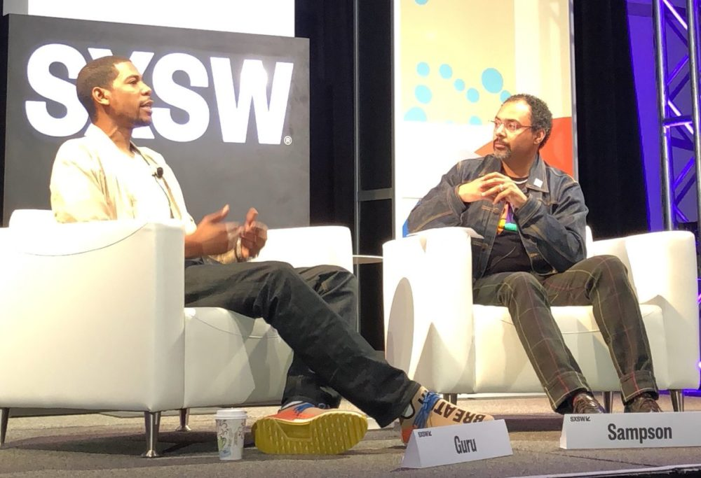 Young Guru and Rodney Sampson SXSW (Image: Opportunity Hub)