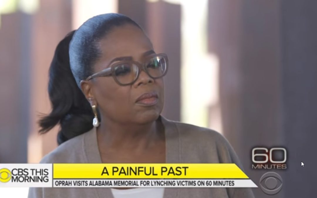Video Preview of Oprah's First-Look At the Memorial Dedicated To Lynching Victims