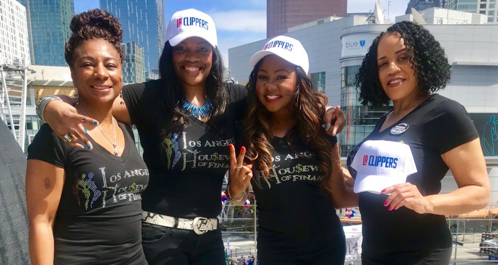 L to R: Mary Johns, LaShonda Johnson, Kasinda Williams, Cheri Gardner (Image: Houston Housewives of Finance)