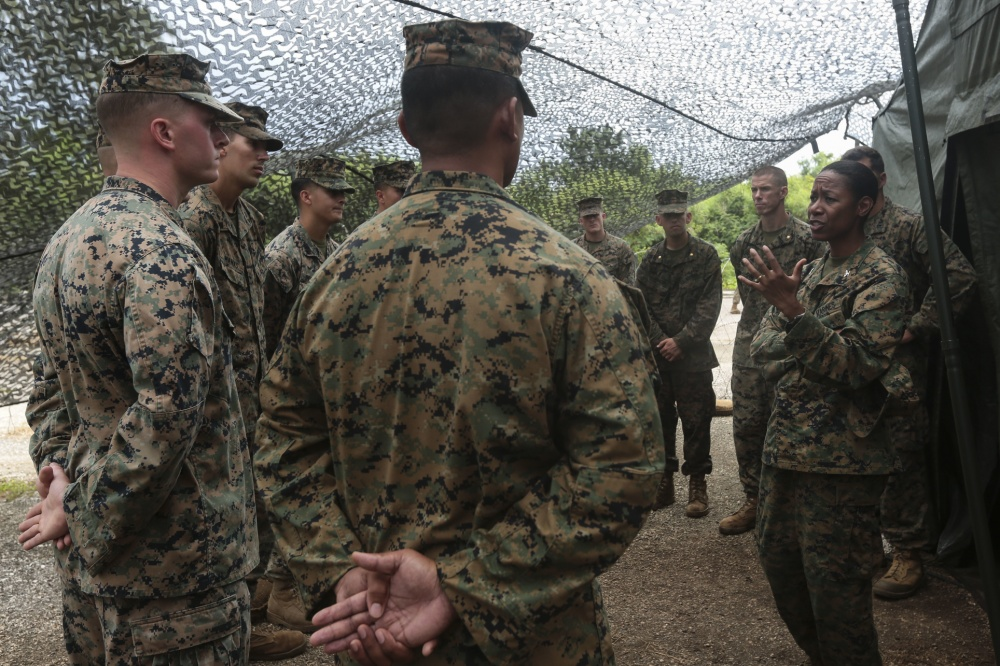 Marine Corps Promotes Lorna Mahlock To Become Its First Black Woman Brigadier General