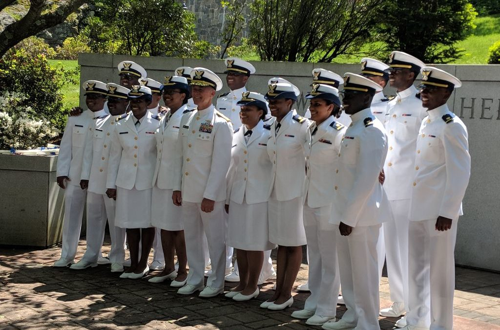 Largest Group Of African Americans Graduate From Coast Guard Academy