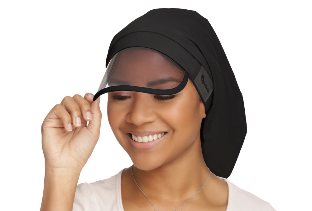 The Hairbrella Is A New Way to Protect Your Hair From the Rain