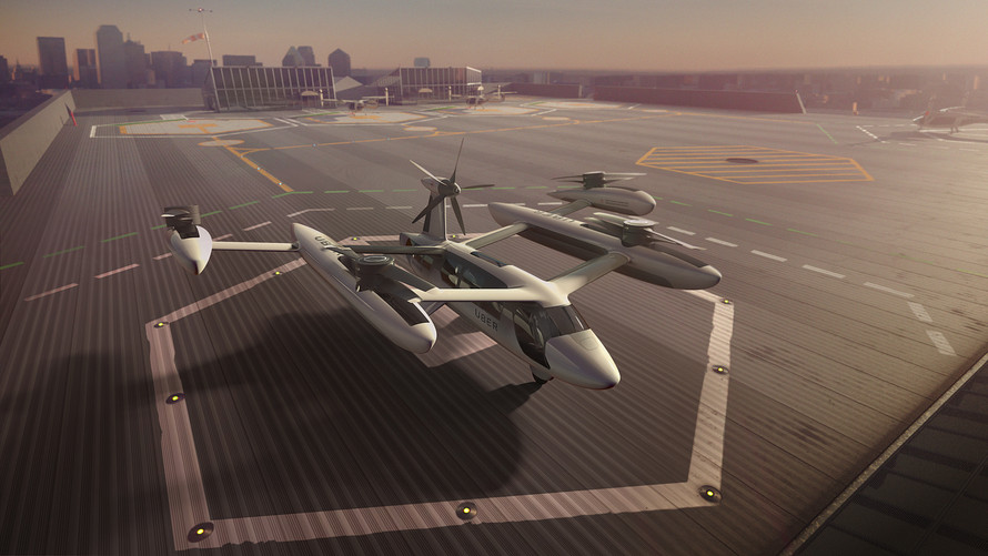 Uber Technologies Unveils Plans And Designs For Its Flying Cars