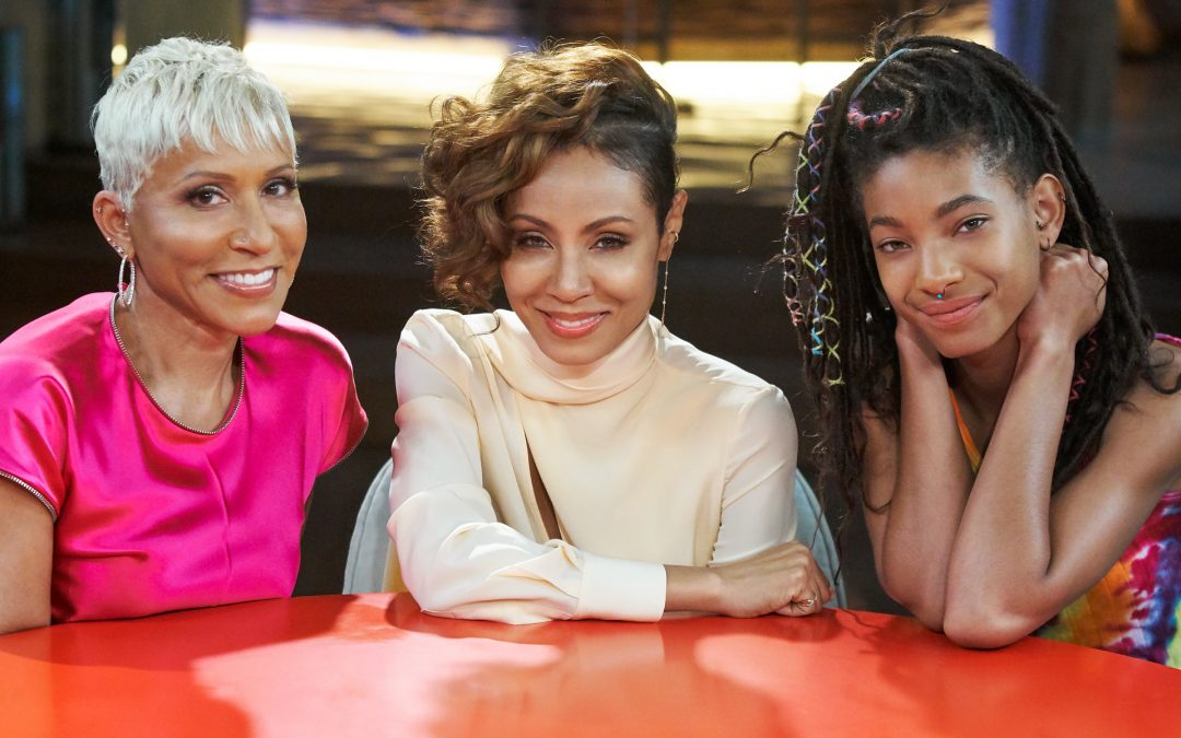 Jada Pinkett Smith Launches Emotional Show, 'Red Table Talk' on Facebook Watch