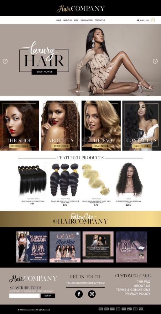 Hair Extensions Company