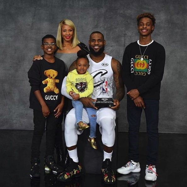 LeBron James, The Super Dad [Opinion]