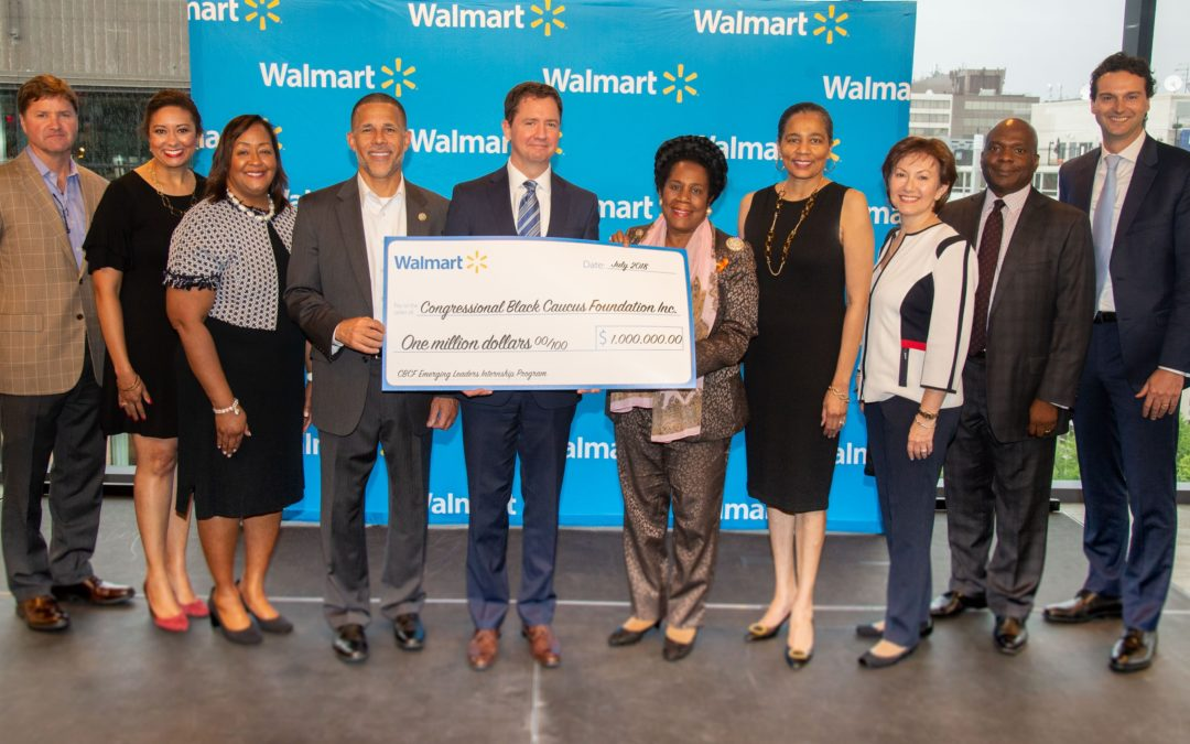 Congressional Black and Hispanic Organizations Receive $1 Million Each from Walmart