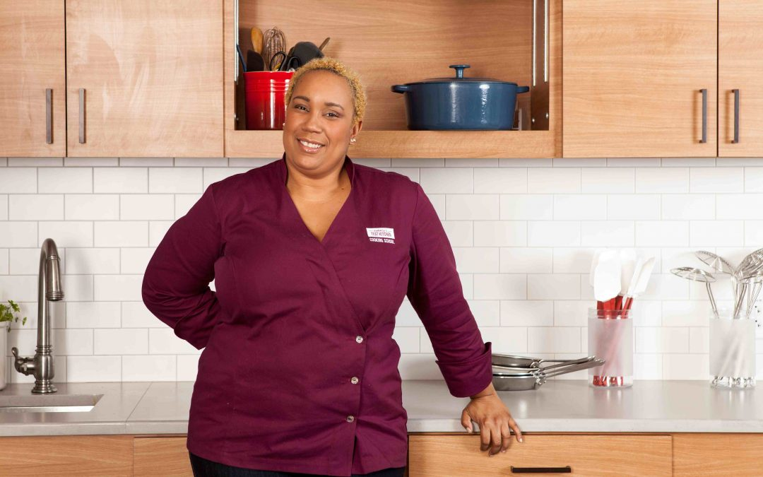 First Black Woman on 'America's Test Kitchen' And Her Mission For Women Chefs of Color