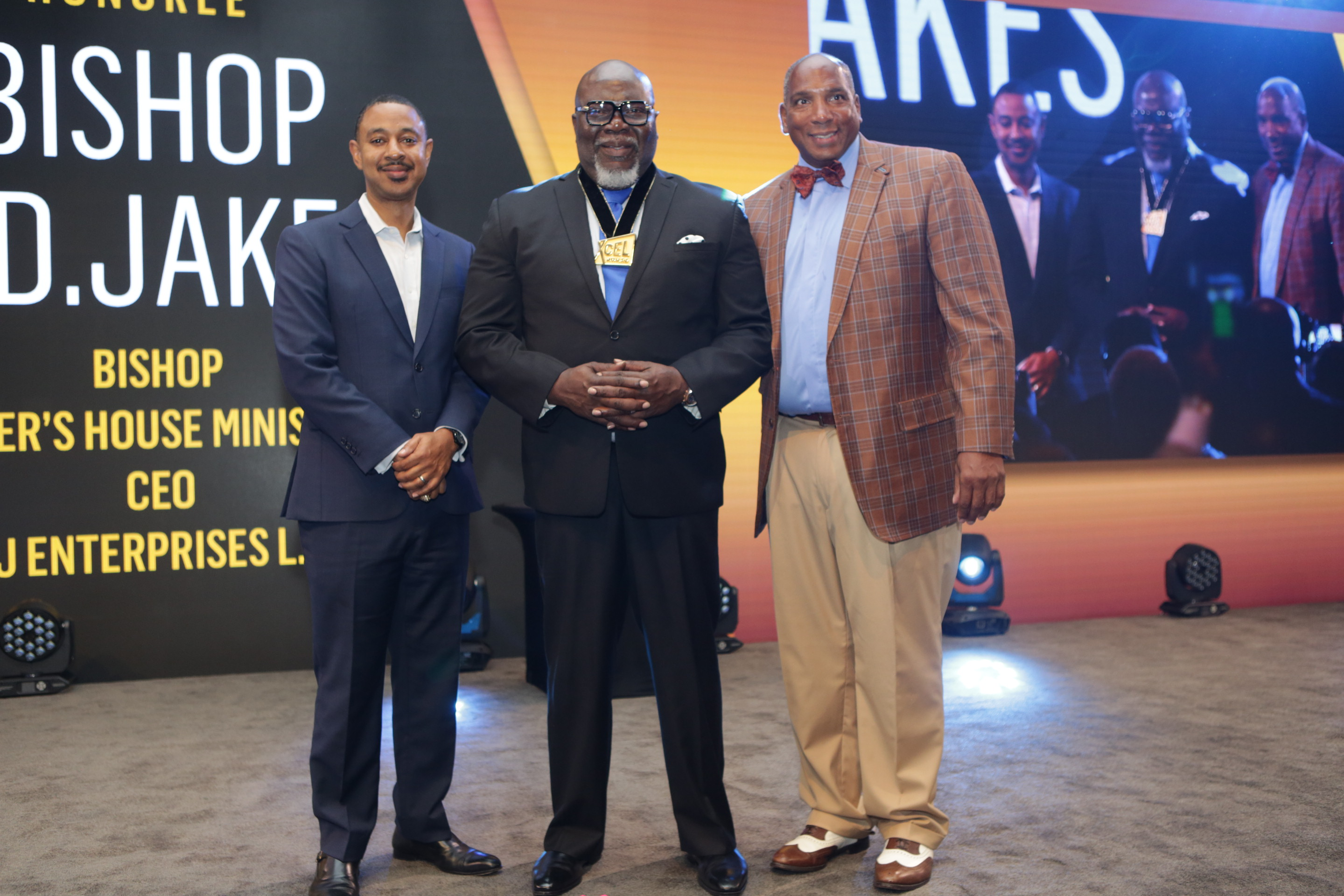 "Black Men Xcel Recap Day 1 AT&T's Corey Anthony, TD Jakes, and Earl ""Butch"" Graves Jr."