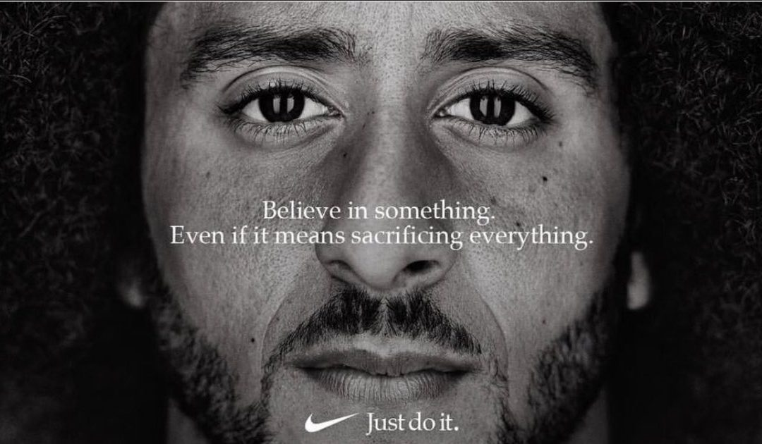 Colin Kaepernick Ad Pushes Nike Social Media Brand Mentions Up 135%