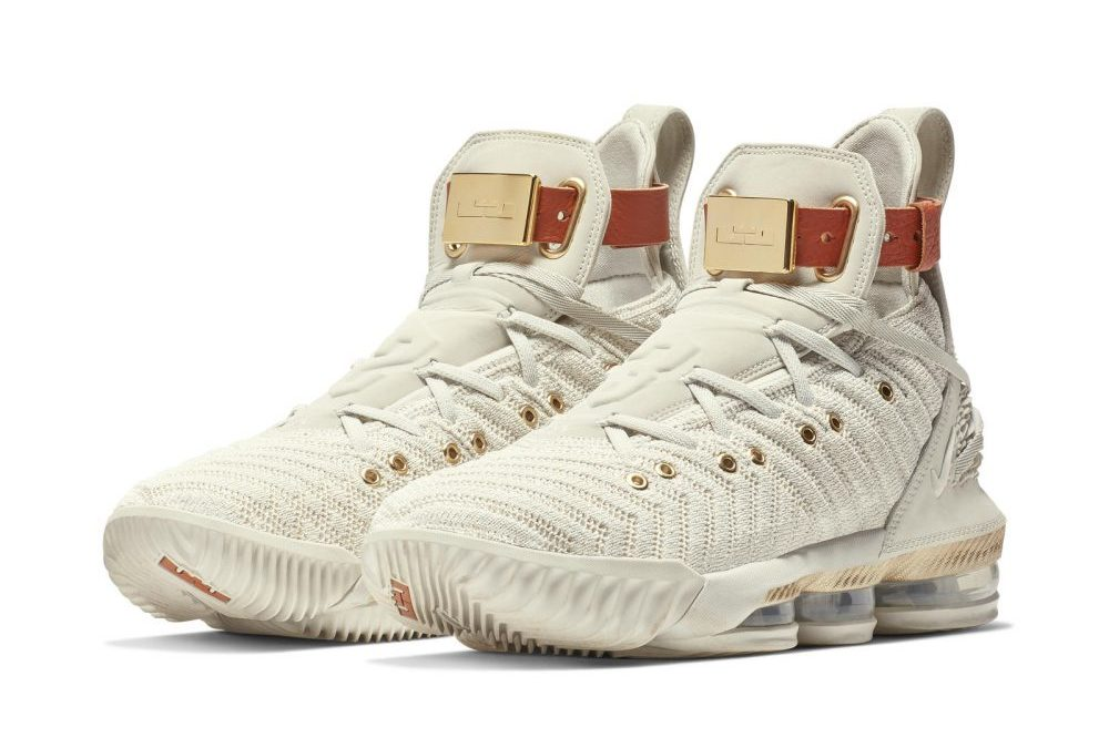 b58250a63 LeBron James Unveils New Nike Sneaker Designed by 3 Black Women. HFR x LeBron  16 ...