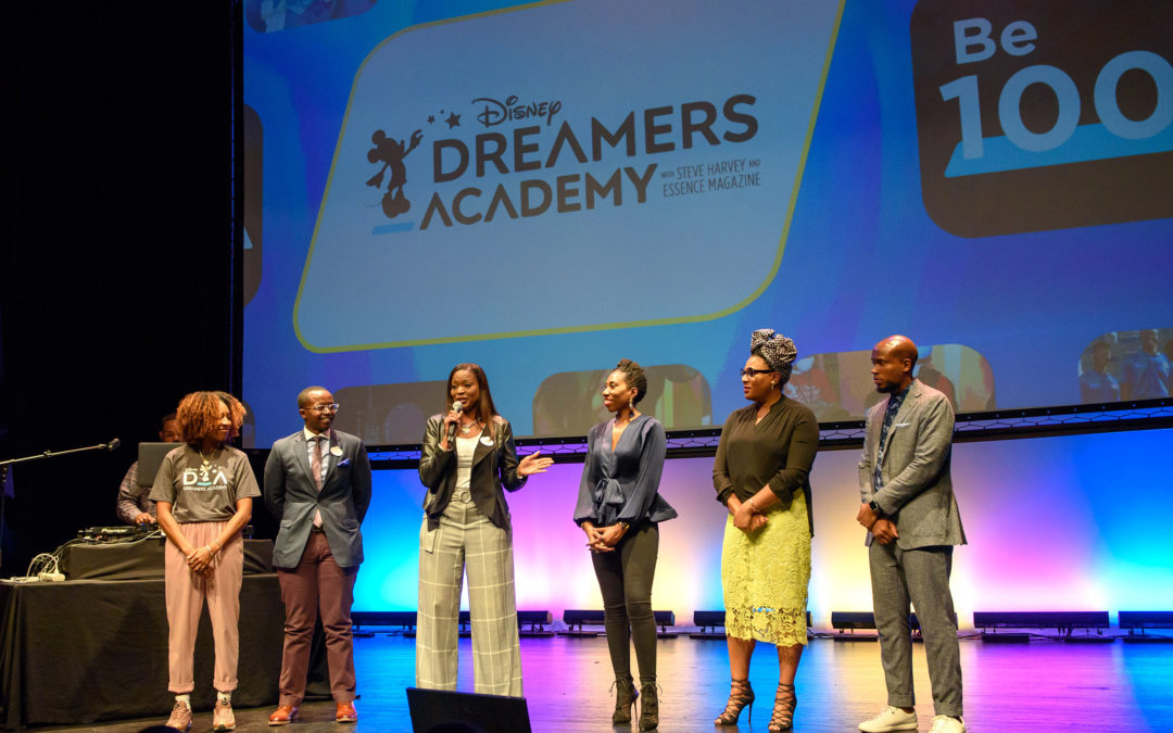"""Disney Dreamers Academy Presents """"100 Minutes To Empower Your Dreams"""""""