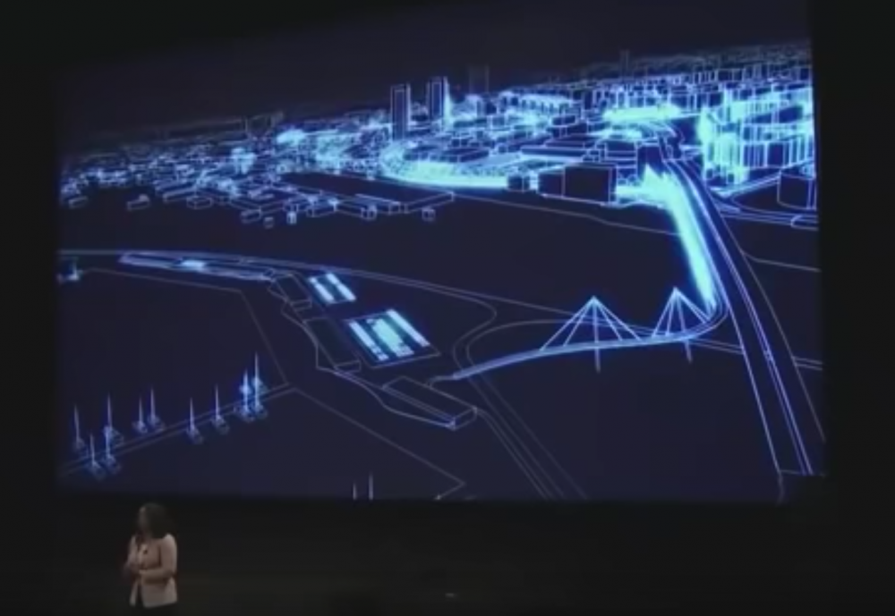 Jessica O. Matthews shares her vision for Uncharted Power at 2018 Disney Accelerator Demo Day (Image: YouTube)