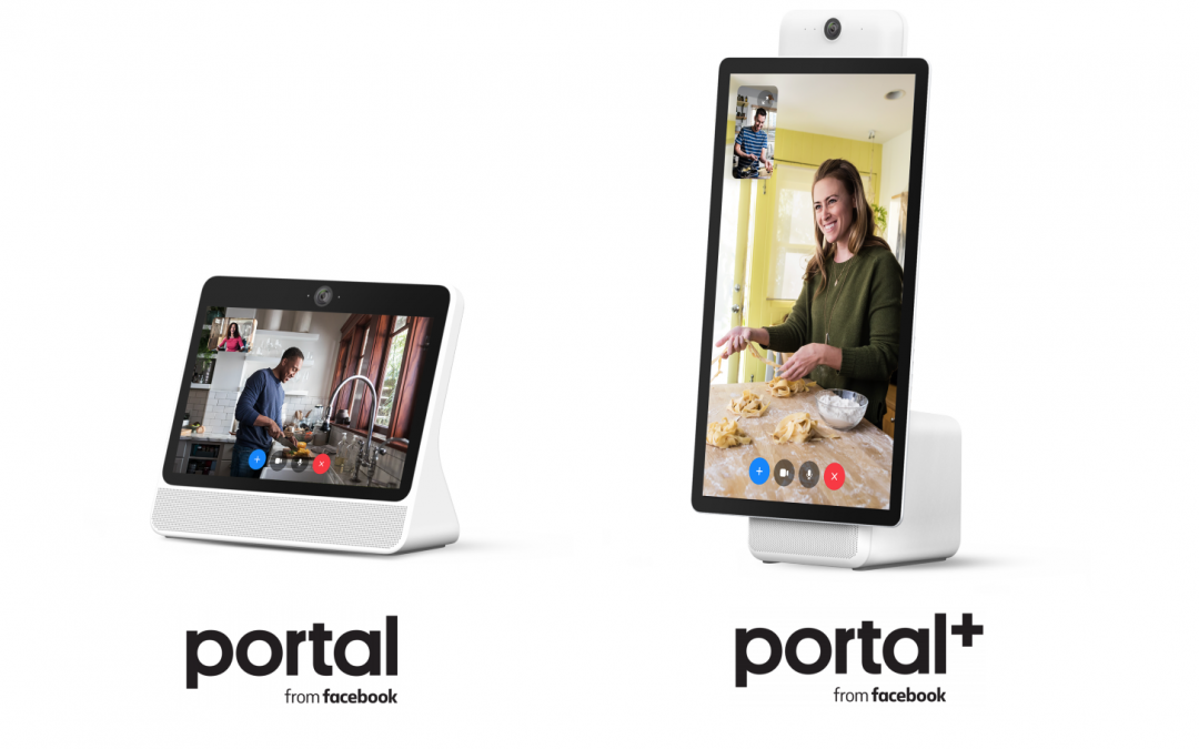 Facebook Releases Portal - Hands-Free Video Calling Hardware