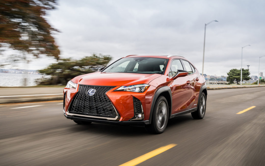 Lexus Targets Younger, Urban Drivers with All-New 2019 UX
