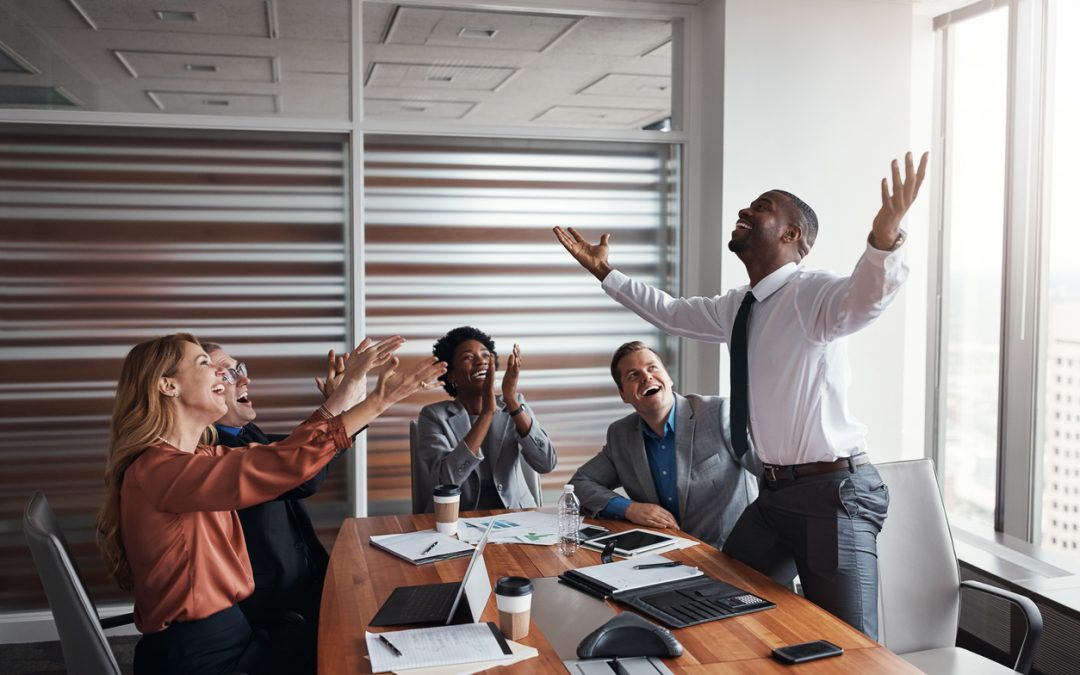Survey: Employees Are Happier Punching the Clock at Small Businesses