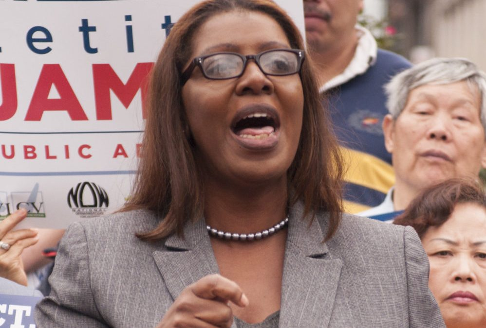 Letitia James First Black New York Attorney General is Coming For Trump's Neck — And His Family