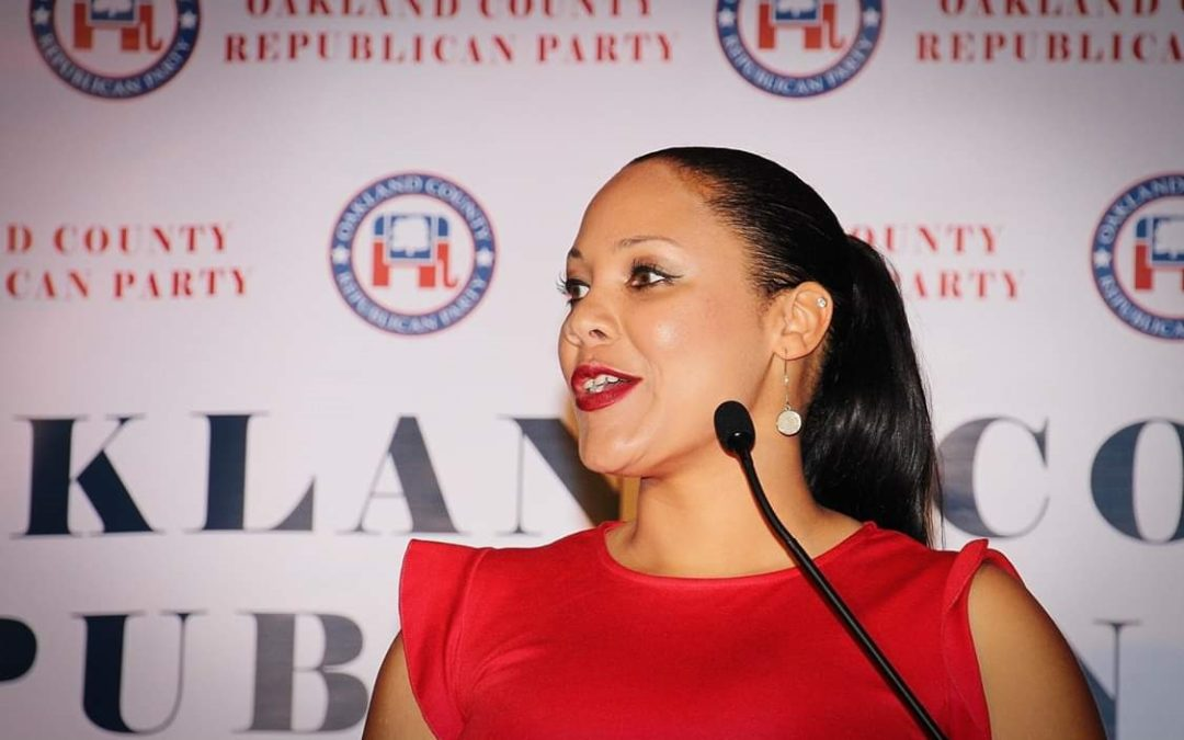 The Black Conservative Woman In The Running to Lead Michigan's Republican Party