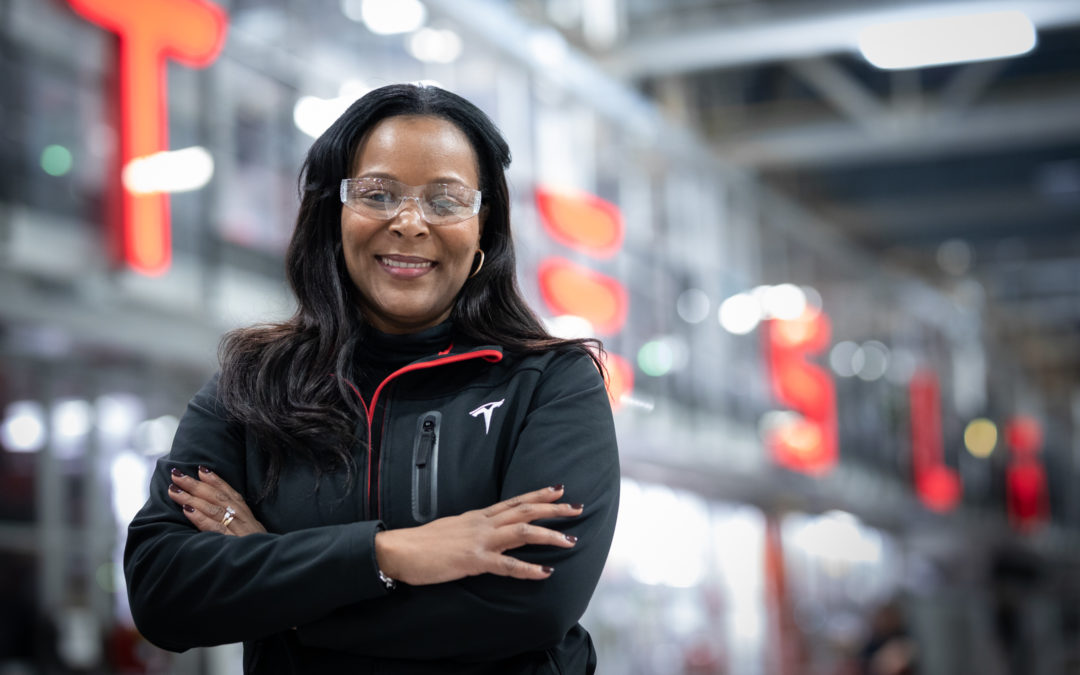 Meet the Black Woman Promoted by Elon Musk to Lead Diversity at Tesla
