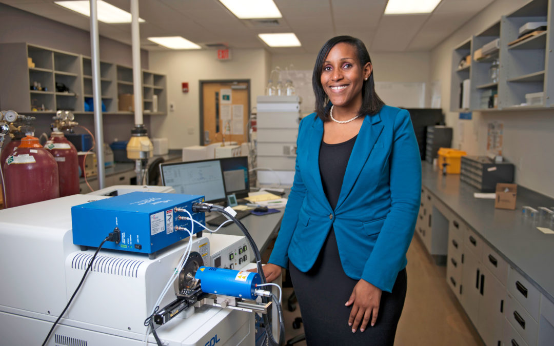 Chemist Candice Bridge Lands Second Grant for Her Forensics Research on Sexual Assault
