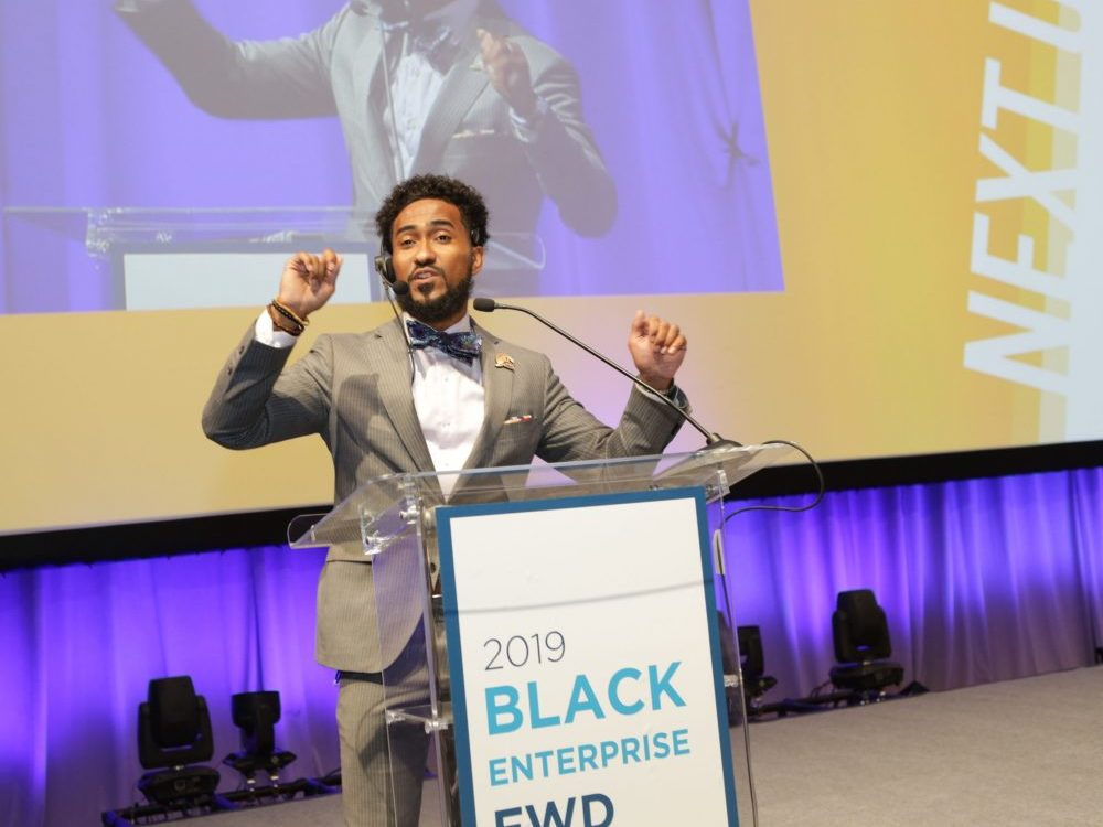 Black Enterprise event speaker