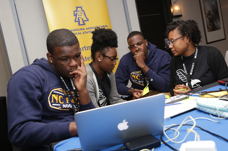 The 2019 BE Smart Hackathon for Students of Color Kicks Off