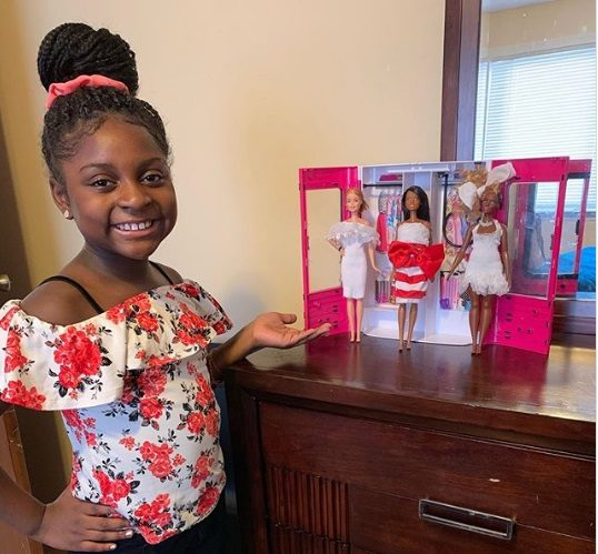 Mattel Reaches Out To 9 Year Old Fashion Designer