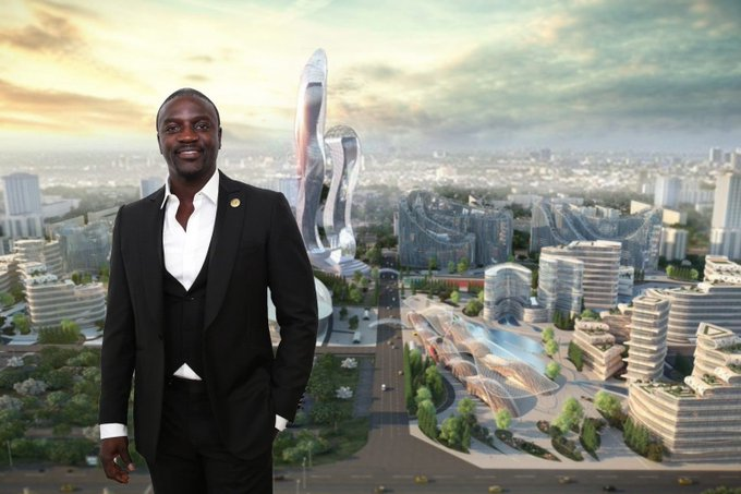 Akon Breaks Ground With Construction On His $6 Billion Smart City