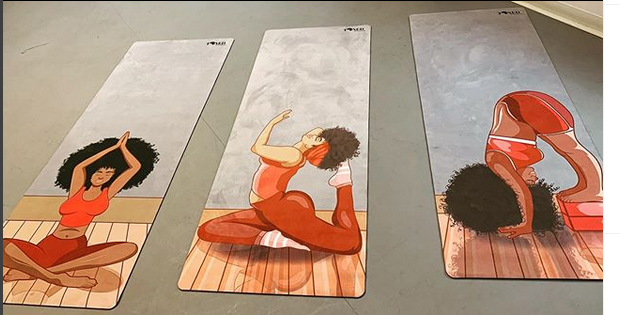 Meet The Sisters Creating Yoga Mats For Black Women