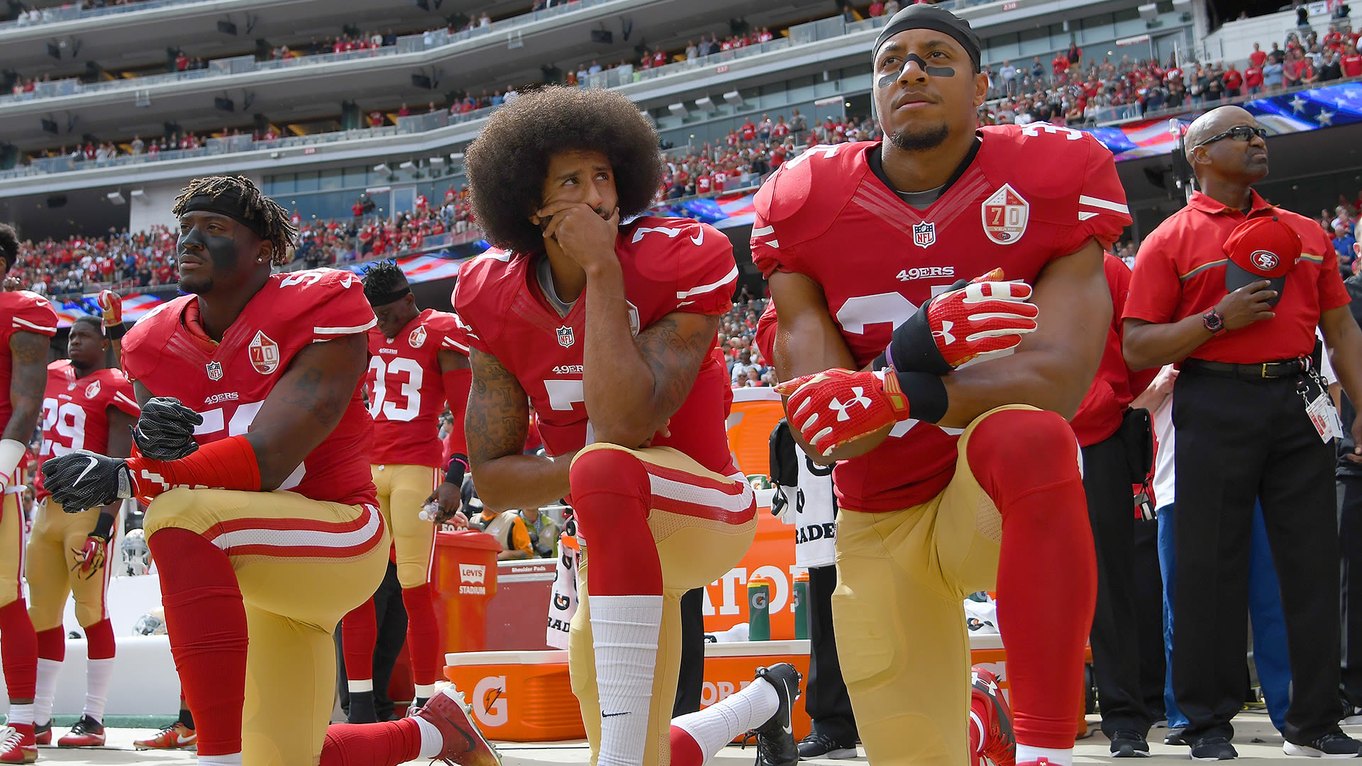 Colin Kaepernick Has Been Nominated for the NFL Hall of Fame