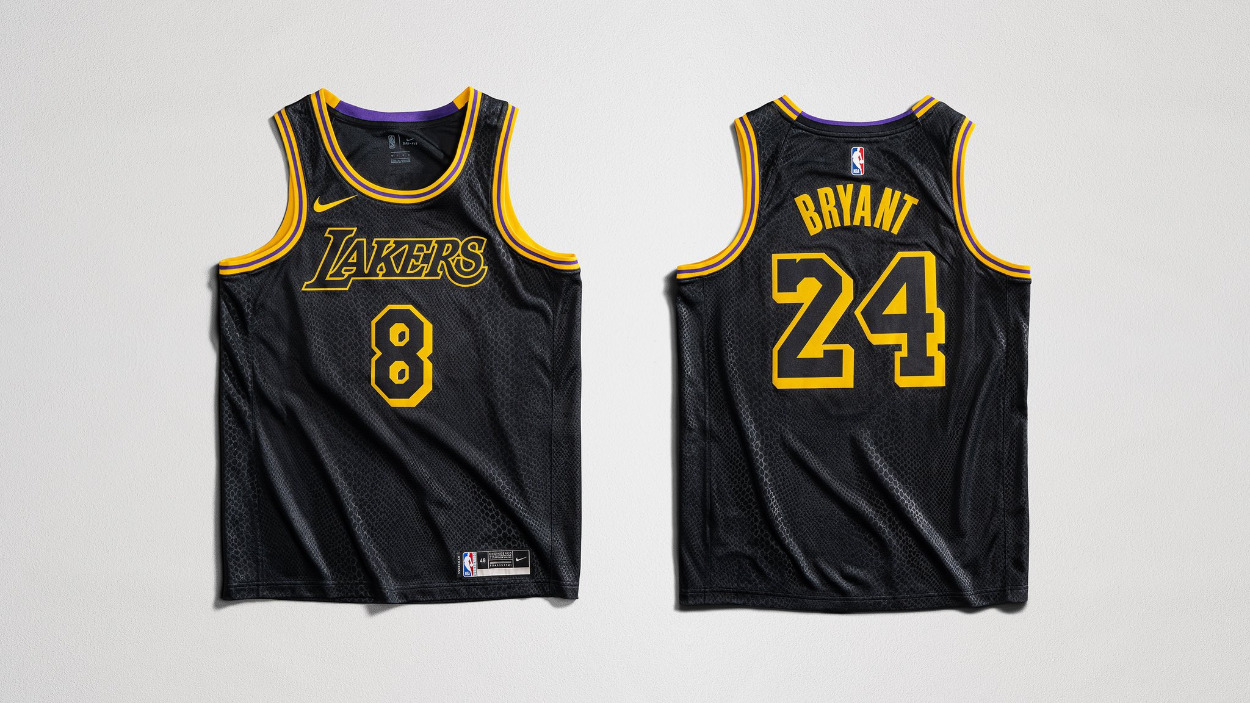 Lakers Wearing 'Black Mamba' Jerseys For Playoff Game To Honor Kobe
