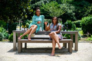 Nichelle and Nicole Nichols, owners of Guilty Grape